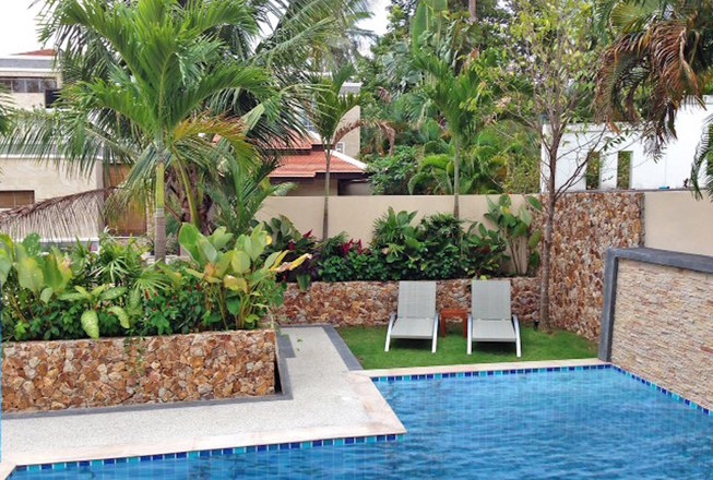 Garden villa in Chaweng for sale