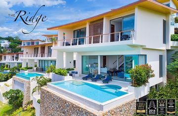 The Ridge luxury villas for sale on Koh Samui Thailand