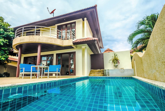 Cosy Villa close to Plai Leam beach for sale