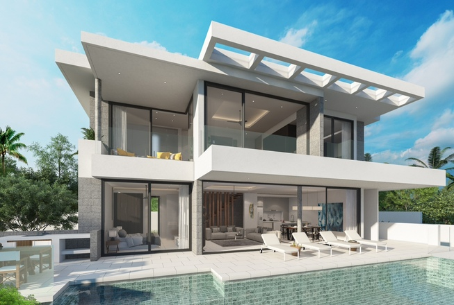 Chaweng Sea View Villas for sale
