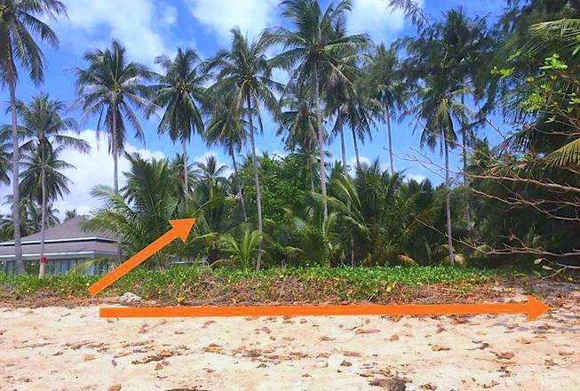 Beach land for sale at cheap price
