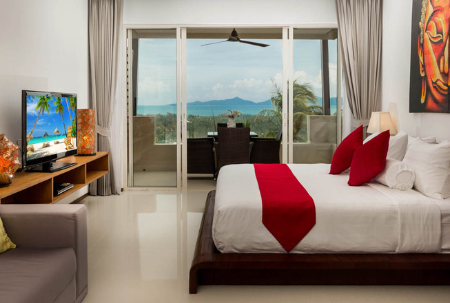 Sea view studio condo for sale in Koh Samui