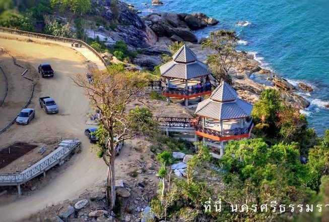Dramatic waterfront plots for sale on the mainland Thailand