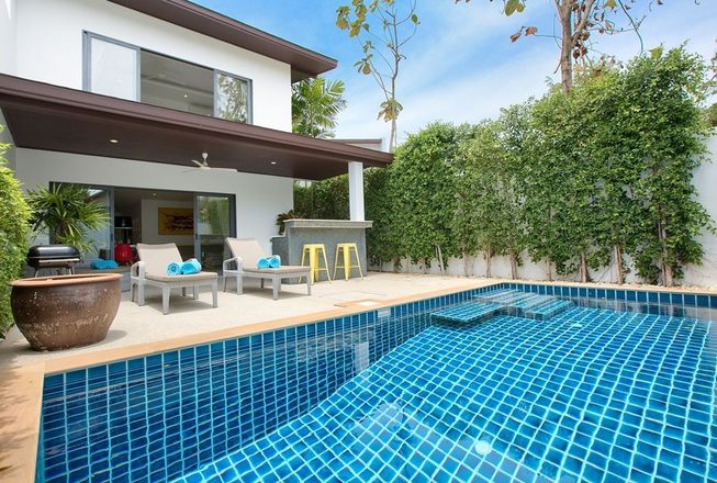 Private family villa for sale in Plai Laem