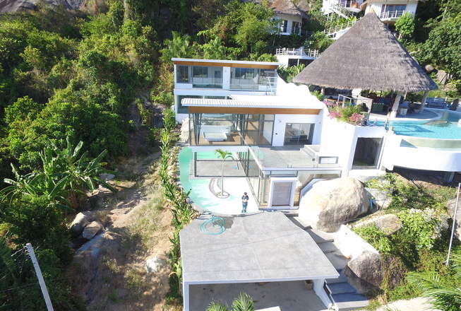 2 luxury villas for sale on Koh Samui